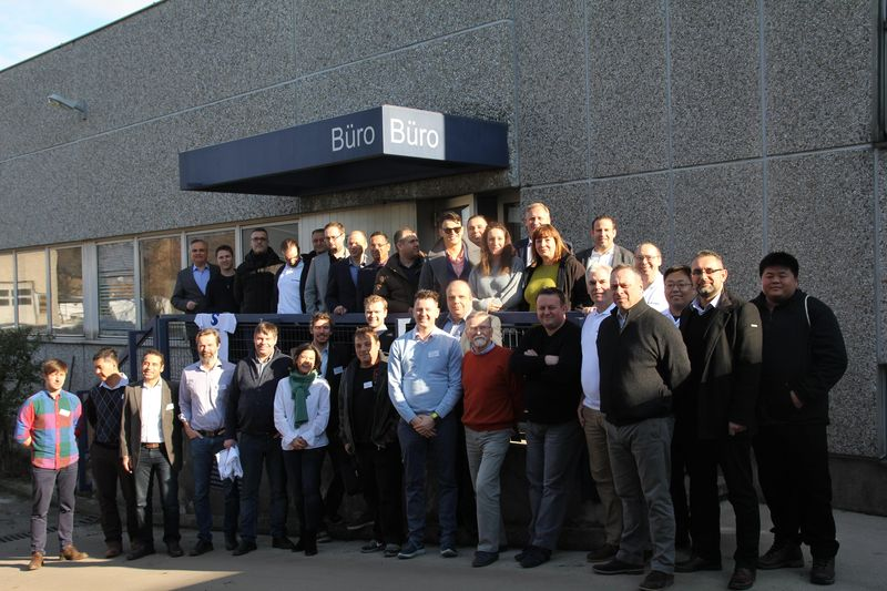 <strong>Schiebel</strong> <strong>Antriebstechnik</strong> GmbH проведе межународна среща на търговските си представители