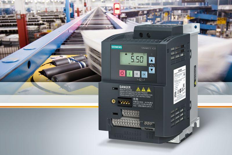 Siemens разширява портфолиото от честотни преобразуватели Sinamics