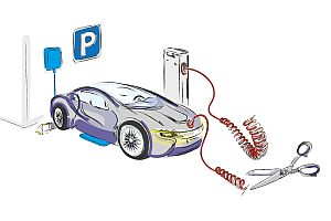 Bosch разработва система за индуктивно зареждане на електромобили