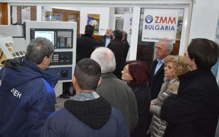 ЗММ Сливен дари оборудване на Професионалната гимназия по механотехника