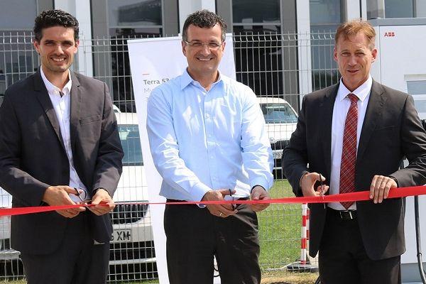 ABB откри бърза зарядна станция за електромобили в Раковски