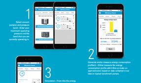 Atlas Copco анонсира мобилно приложение за изчисляване енергоспестяването от <strong>вакуумни</strong> <strong>помпи</strong>