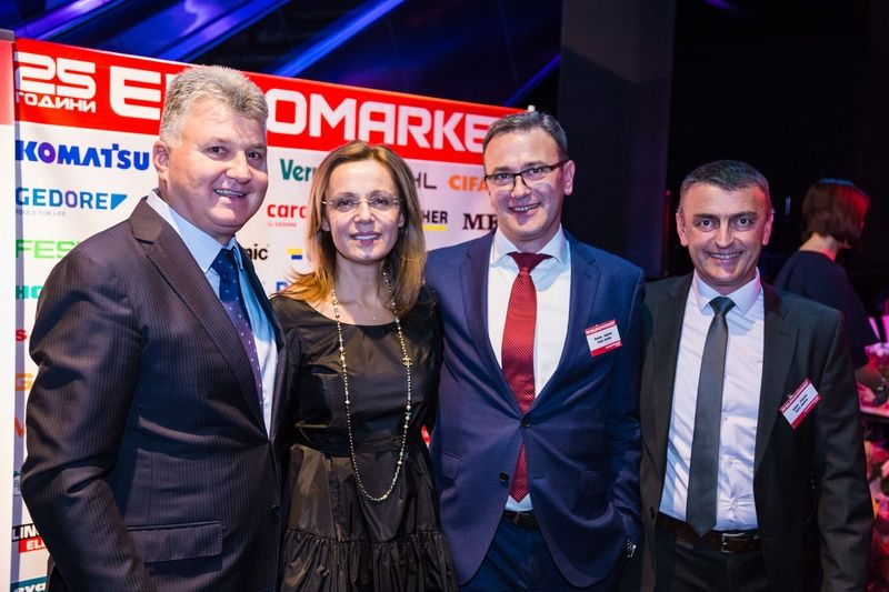 <strong>Евромаркет</strong> Груп отпразнува своя 25-годишен юбилей