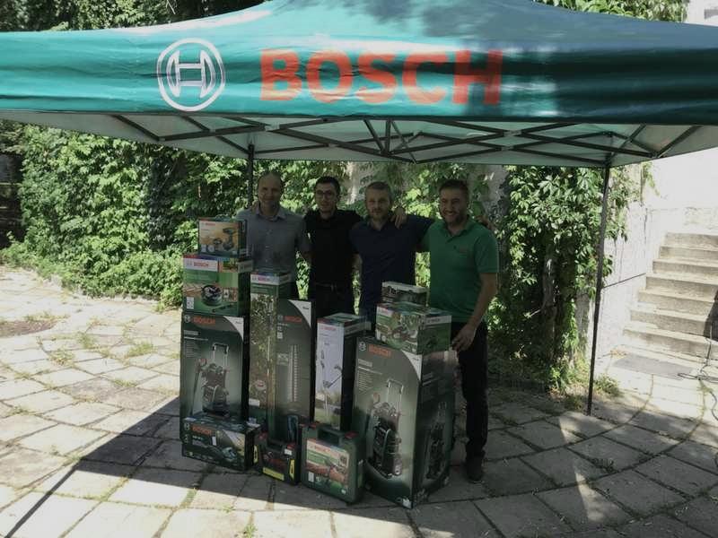 Зоопаркът в София получи нова техника Bosch за поддръжка на зелените площи