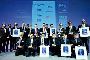 Връчиха наградите Intersolar Award 2015 и ees Award 2015