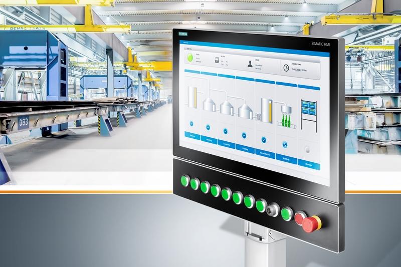 Siemens разшири фамилията системни HMI решения