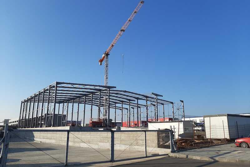 Дорослава Строй започна изграждането на нов <strong>логистичен</strong> <strong>център</strong> в Бургас