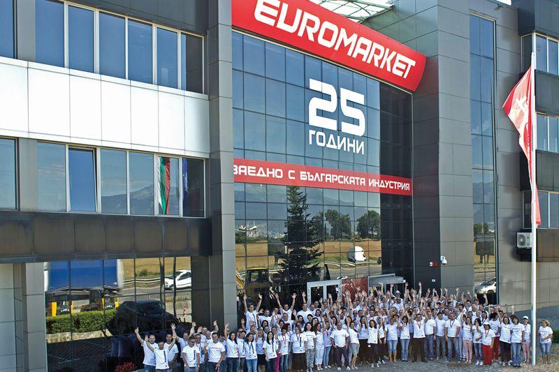 <strong>Евромаркет</strong> Груп отбеляза 25-годишен юбилей