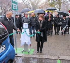 Фулчарджър и Енерджиста инсталираха първите пет зарядни станции за електромобили в Стара Загора