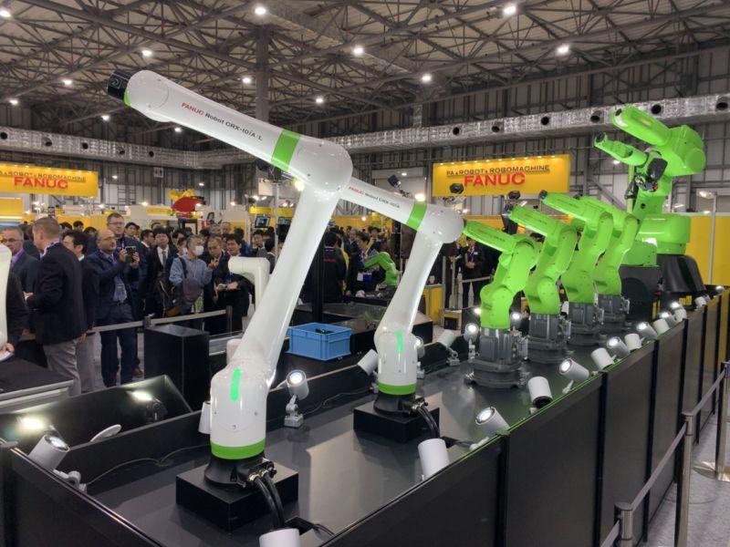 FANUC представи колаборативен робот от ново поколение