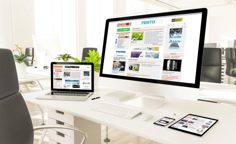 Порталите от групата IndustryInfo.bg – изцяло обновени