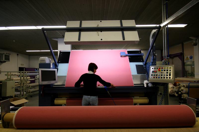 Промишленото производство отбеляза минимален ръст през октомври
