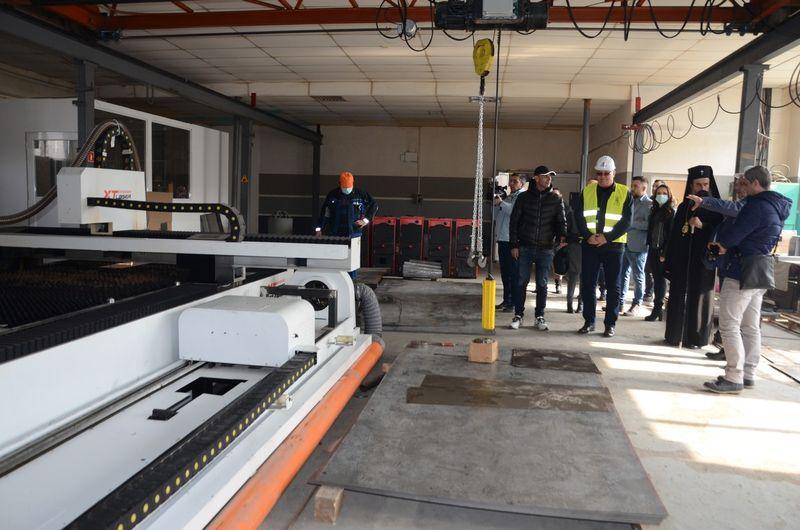 Стартира строителството на нова производствена база в Северната промишлена зона на Видин