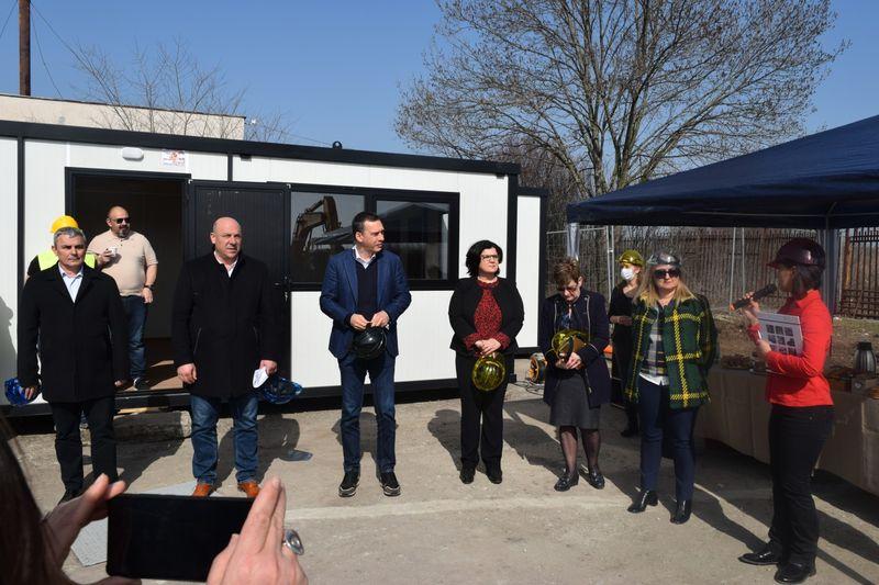 В Бургас започна строежът на анаеробна инсталация за преработка на биоразградими отпадъци
