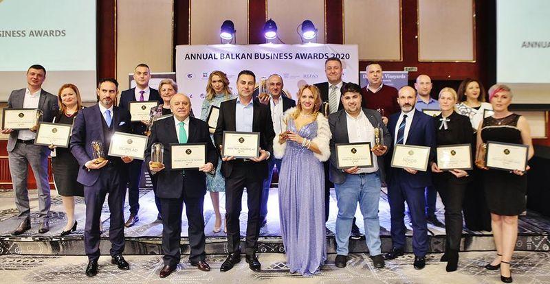 Победителите в Balkan Business Awards 2021 ще бъдат обявени на 26 март