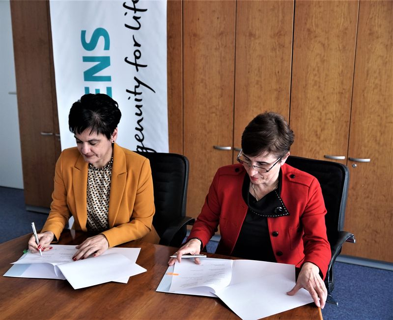 Siemens България и ХТМУ подписаха споразумение за сътрудничество