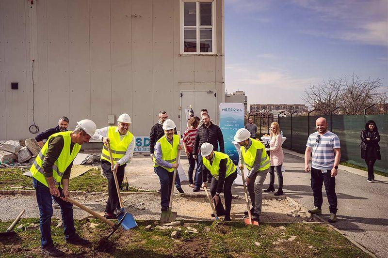 Нетера стартира строителството на нов център за данни