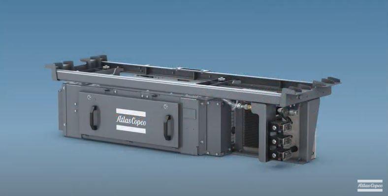 Безмаслен компресор SFR за приложения в транспорта от Atlas Copco