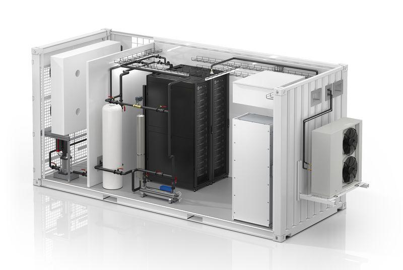 <strong>Schneider</strong> <strong>Electric</strong> с първия в сектора модулен център за данни с течно охлаждане