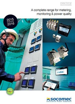 Нов каталог за контролно-измервателно оборудване Socomec