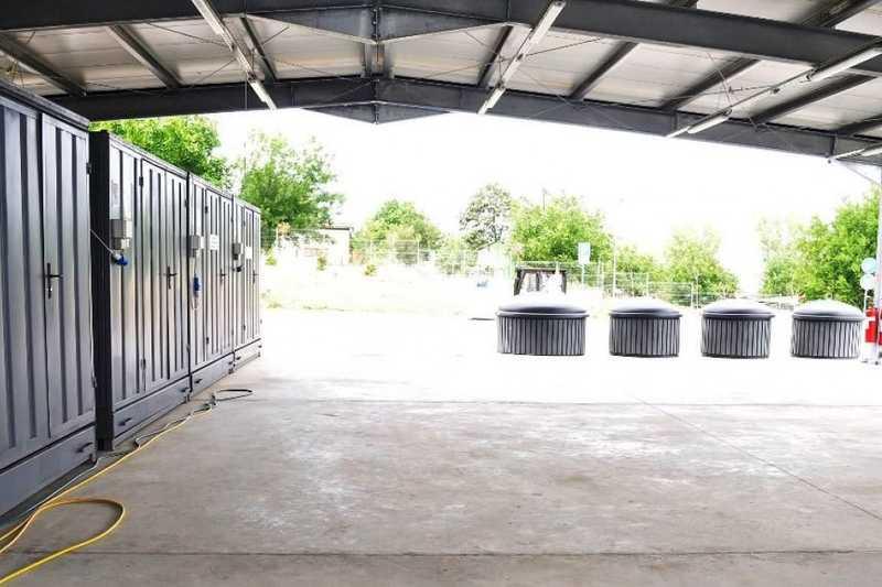 Завърши изграждането на центъра за опасни отпадъци в Разград