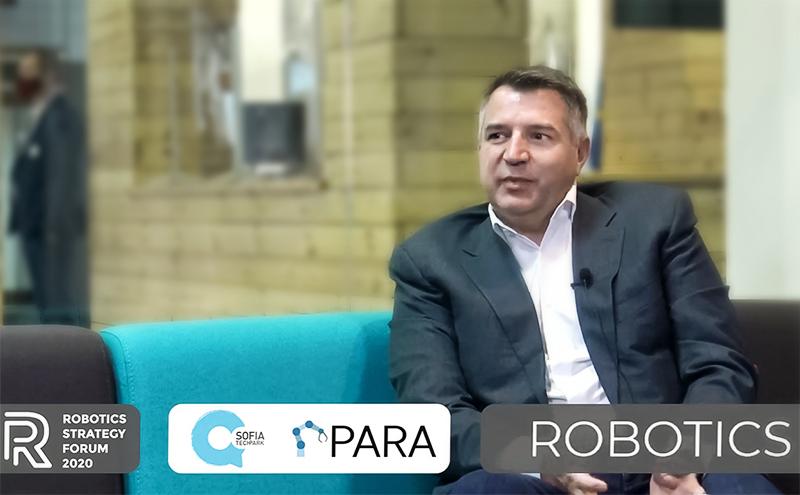 Днес започна Robotics Strategy Forum 2020