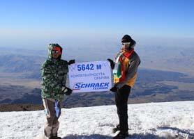 Шрак Техник спонсорира експедиция до връх Елбрус