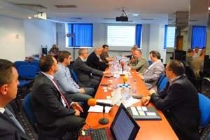 Браншовата камара на производителите и търговците на телфери и кранове проведе заседание в София