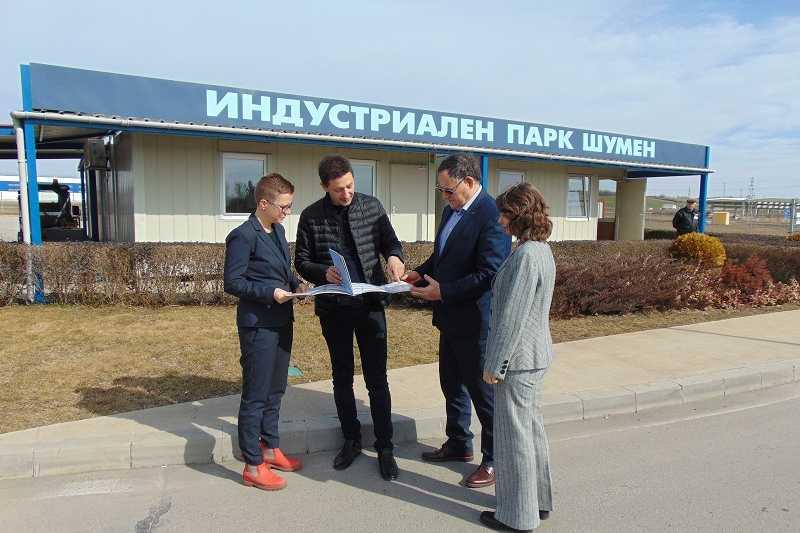 Представители на ГБИТК посетиха Индустриален парк Шумен