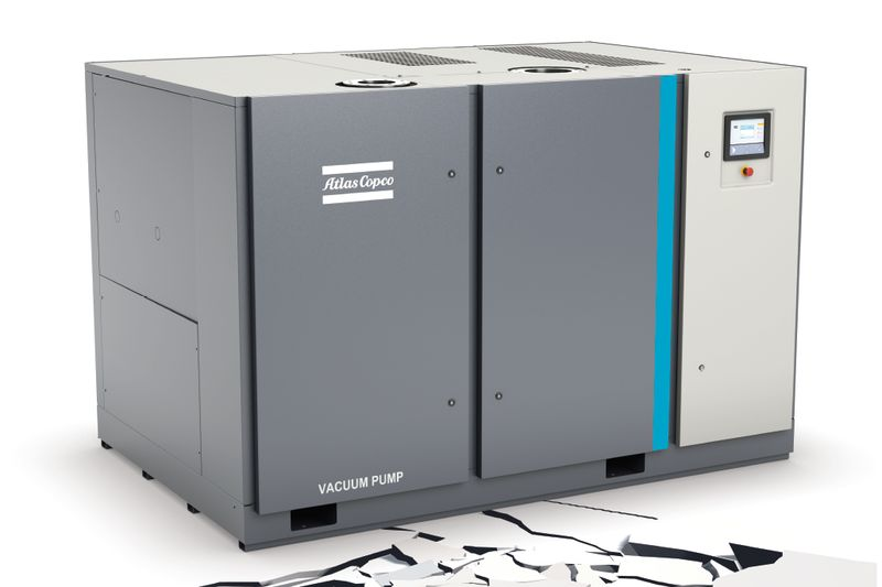 Atlas Copco представи нови вакуум <strong>помпи</strong> с честотно управление на ComVac - Хановер