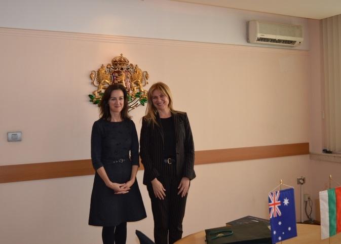България и Австралия обсъдиха разширяване на търговското сътрудничество