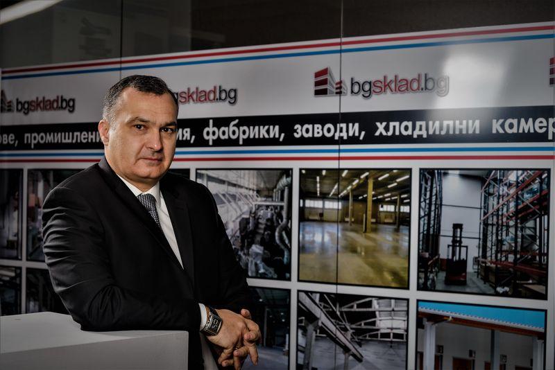Симеон Митев, БГСКЛАД: Продължава търсенето на нови, модерни складови площи и индустриални обекти