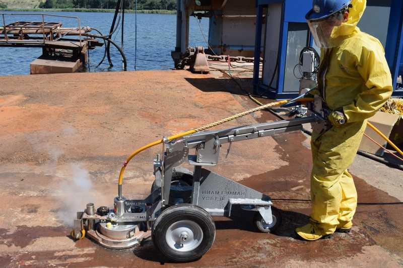 Варненска компания внедри автоматизирана техника за кораборемонт
