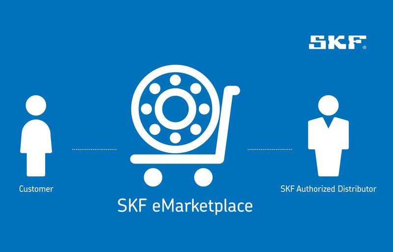 Продуктите на SKF вече могат да се закупят бързо и ефективно от оторизирани дистрибутори чрез SKF eMarketplace
